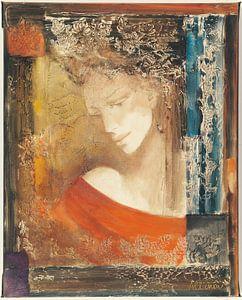 Ethereal Woman I, Albena Hristova von Wild Apple