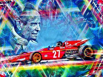 The Belgian Race Legend Jacky Ickx von Jean-Louis Glineur alias DeVerviers