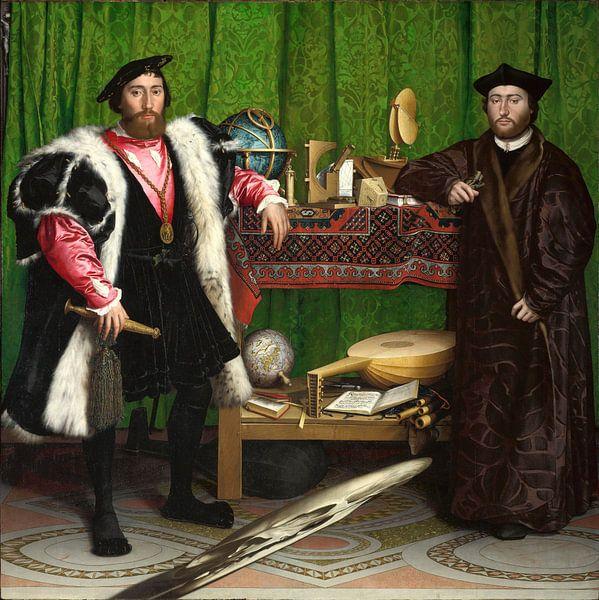 Hans Holbein.Die Botschafter von 1000 Schilderijen