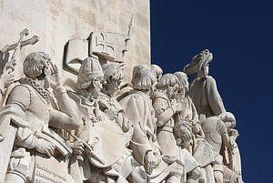 Het ontdekkingsmonument aan de Taag, Lissabon