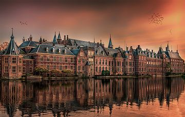 Den Haag Binnenhof von Herman van den Berge