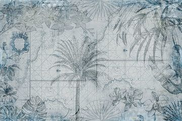 Nostalgische reis naar tropisch paradijs van Andrea Haase