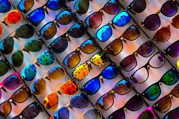 Kleurrijke zonnebrillen van Peter Relyveld