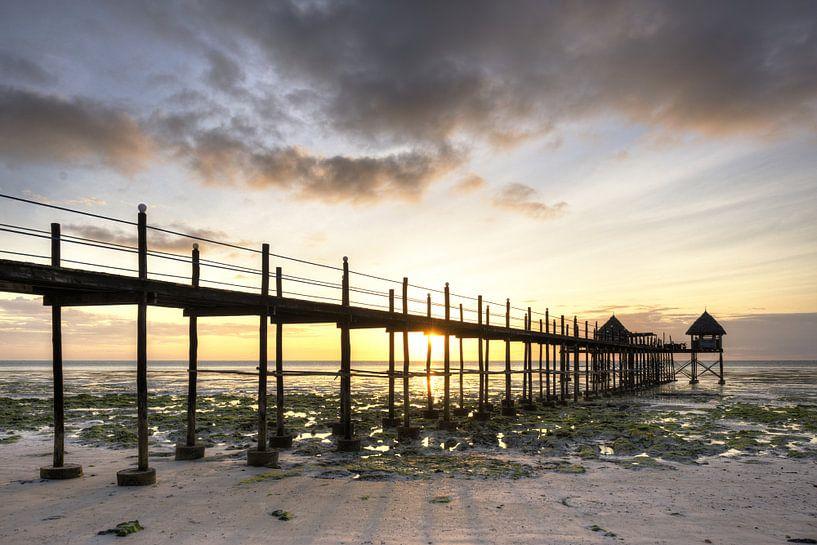 Zonsopkomst Zanzibar van Jeroen Middelbeek