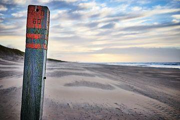 Strandpaal 60 bij Wassenaar von Michael Echteld