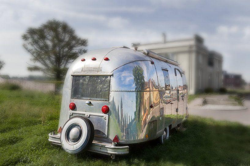 Jaren 50 caravan van Peter de Kievith Fotografie