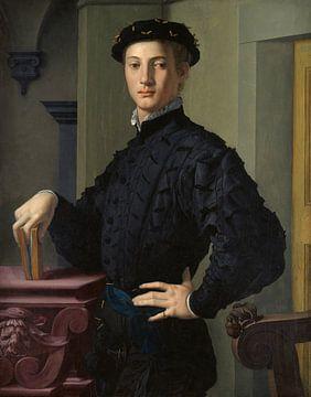 Porträt eines jungen Mannes, Bronzino - 1530