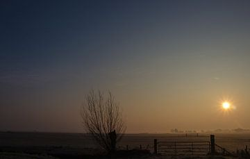 Sunrise van Patrick Ruitenbeek