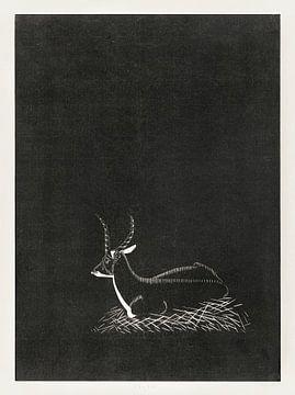 Waterbok, Samuel Jessurun de Mesquita (1921) van Atelier Liesjes