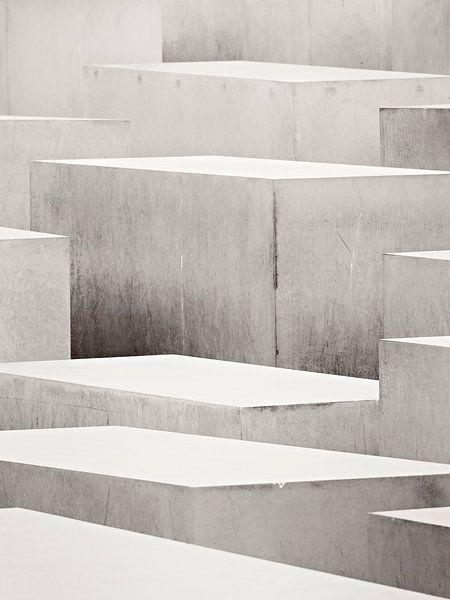 Berlin - Holocaust Memorial van Alexander Voss