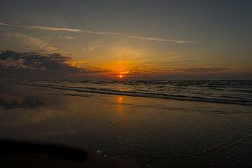 Strand Nes Ameland van Waterpieper Fotografie