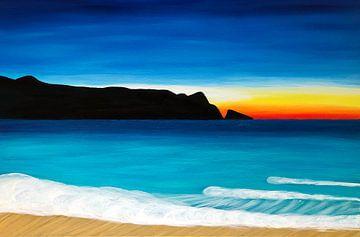 Maui, Hawaii, Sonnenuntergang von Martina Dormann