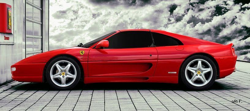 Ferrari F355 GTS F1 sur aRi F. Huber