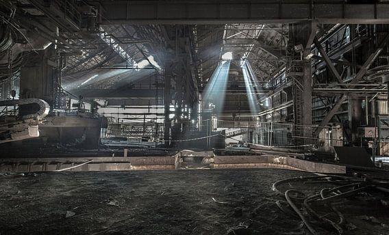 Oude staalfabriek