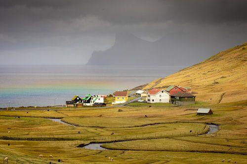 Elduvik en de regenboog van