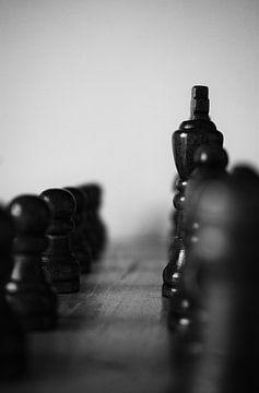 Schach - schwarz und weiß von Tuur Wouters