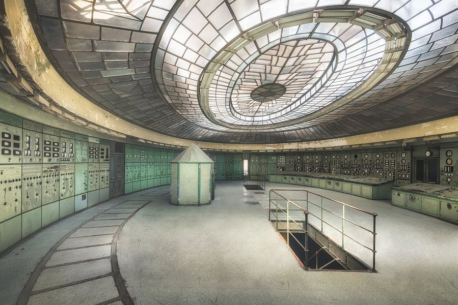 De grote controlekamer
