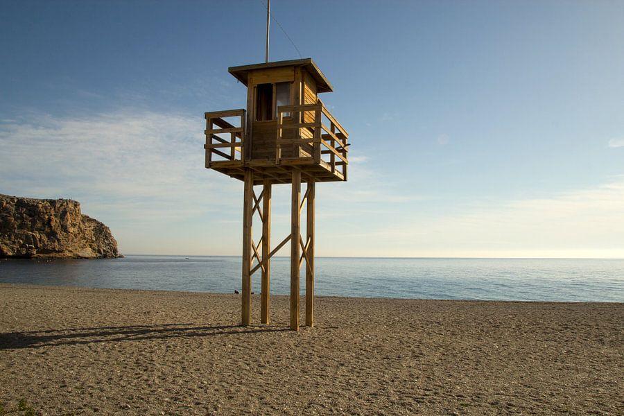De Strandwachttoren van Cornelis (Cees) Cornelissen