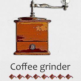 Kaffeemühle von Leopold Brix