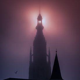Grande église de Breda sur Esmeralda holman