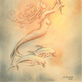 Dolfijnen engelen en genezers van de zee van Marita Zacharias