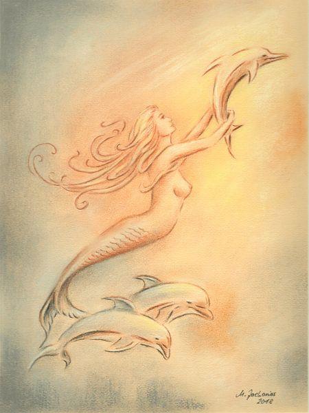 Delphine Engel und Heiler der Meere von Marita Zacharias