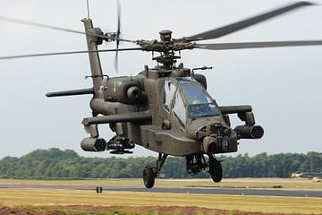 Royal Netherlands Air Force AH-64 Apache sur
