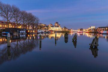 Avondsfeer Koninklijke Munt Utrecht van André Russcher