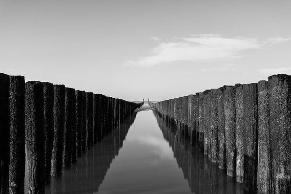 Reflecties aan de kust
