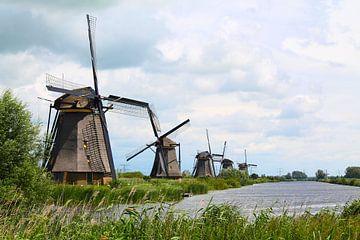 Windmühlen Kinderdijk von Roel de Vries