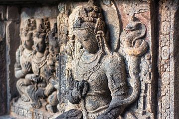 Indonesie: Hindoe tempel Prambanan van Coby Bergsma