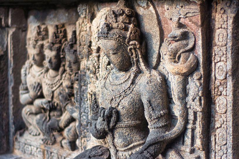 Indonesien: Hindu-Tempel Prambanan von Coby Bergsma