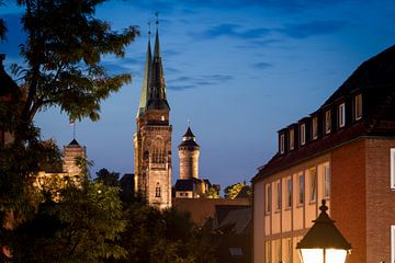 Nürnberg am Abend von