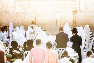 Jerusalem / Klagemauer / Goldener Schein / Reisefotografie von Jikke Patist