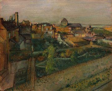Vue de Saint-Valéry-sur-Somme, Edgar Degas sur