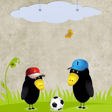 Ravens de football sur Marion Tenbergen