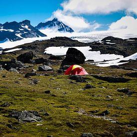 Kamperen in Noorwegen..... van Marjo Kusters