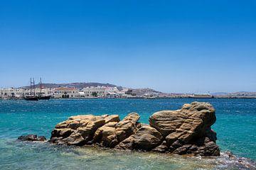 Mykonos haven in Griekenland van