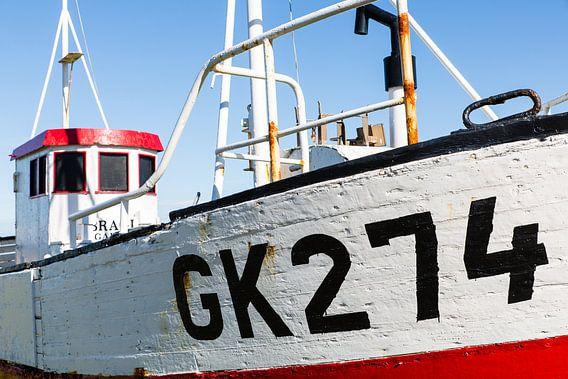 Ijslandse vissersboot van Steve Van Hoyweghen