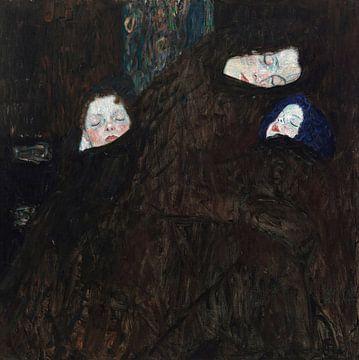 Mutter mit zwei Kindern (Familie), Gustav Klimt