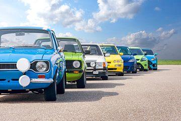Ford RS générations sur Sytse Dijkstra