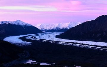 Matanuska-Gletscher am frühen Morgen von Nathan Marcusse