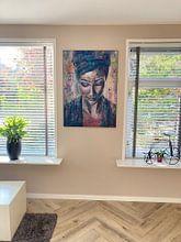 Photo de nos clients: Écoutez sur Flow Painting, sur image acoustique
