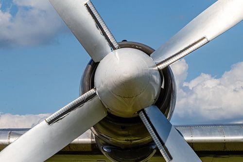 Vliegtuig propeller.