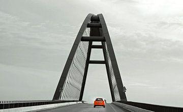 Blickpunkt Brücke van Vera Laake