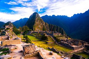 De Verloren Stad, Machu Picchu in Peru van