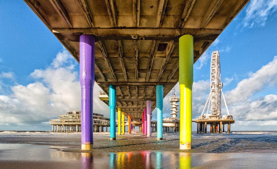 De Pier in Schevingen  van Kevin Nugter
