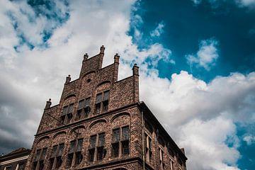 Gebouw uit de middeleeuwen te Doesburg van Dustin Musch