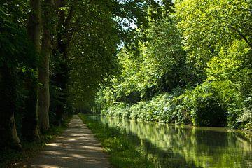 Canal du Midi van Anja B. Schäfer