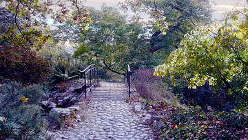 Brücke im Park van Peter Norden